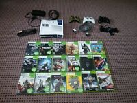 Limited Edition R2D2 Xbox 360 + Games and Controllers
