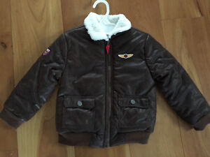 New! Little Me Pilot bomber jacket. Size 4