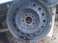 """16"""" Steel wheels 5x4.5/ 5x114.3 set of 4 good for snow tires"""