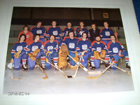 HOCKEY TEAM PHOTO-L'UNION DES SPECIALISTE DE L'IMPRIMERIE-521