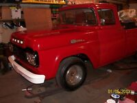 90% restored winter 2013 --1959 Ford F100 --  Great condition
