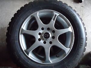 185/65R14 Mud & Snow tires mounted on 4x100 & 4x114.3mm CR rims