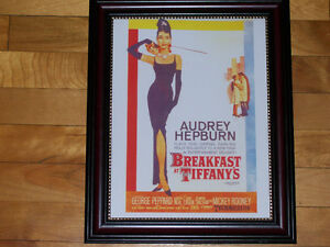 Breakfast At Tiffany's Movie Poster - Framed Print! West Island Greater Montréal image 1