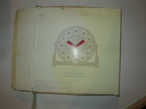Pottery Barn Kids First Clock - New but missing Hardware