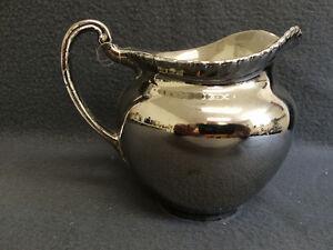 "Collectible Antique Gray's Pottery 5"" Milk Pitcher London Ontario image 3"