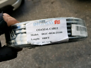 New RG6 coaxial cable 100ft
