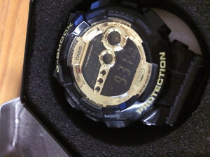 Casio G-SHOCK G340 - Black and Gold