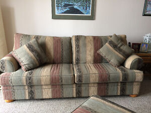 Couch, chair and ottoman for Quick Sale