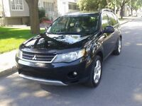 2008 Mitsubishi Outlander,toit ouvrant,GPS,DVD,sièges cuir