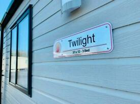 Luxury New Holiday home for Sale. Southport, Riverside Holiday Park. 12 Months
