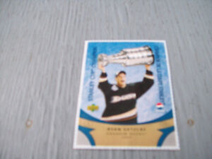 1-CARTE DE HOCKEY,DE RYAN GETZLAF,DUCKS ANAHEIM 2007.