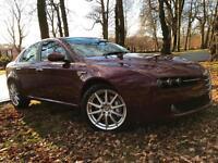 *VERY RARE CAR*12 MTHS WARRANTY*2006(56)ALFA ROMEO 159 3.2 JTS V6 LUSSO Q4*
