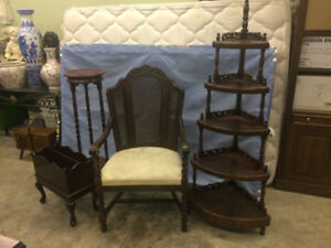 Various Antique Furnishings