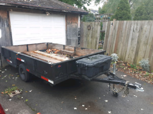 Home built utility trailer