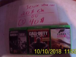 a vendre jeux xbox one autres Objet aussi