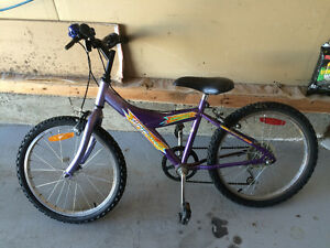 Girls Youth bike bicycle, purple