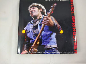 Bruce Springsteen: The Illustrated Biography Hardcover Book
