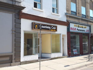 Rare! Prominent location in the heart of Downtown Simcoe!  $695+