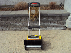 NOMA--ELECTRIC  SNOTHROWER WITH EXTRA NEW PADS