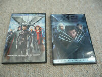 X2 X-Men United & X3 The Last Stand on DVD