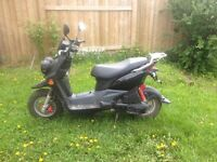 BW's 50 Yamaha scooter $1800.00 1890 kilometers will last approx