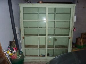 Antique Display / Storage Shelf Unit