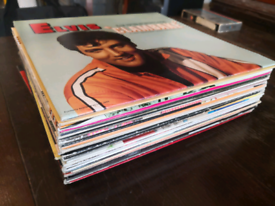 24 Elvis vinyl albums, to buy individualy or together.