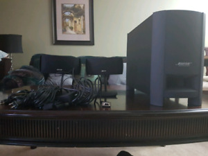 Bose Home Theater System.