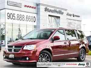 2017 Dodge Grand Caravan Premium Plus, DVD, Navi, 9,600 KMS,