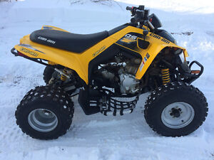 LIKE NEW 2015 CAN AM 250 DS (FINANCING)