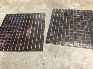 Glass tiles 1x1 ft new
