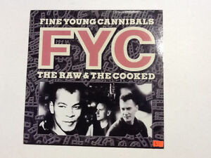 Collectible Vinyl Record FYC FINE YOUNG CANNIBALS $15