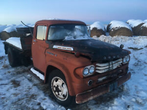 1958 Dodge 400 cab and chassis