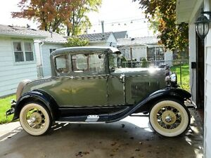 1930 model A coupe with rumble seat London Ontario image 2
