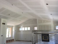 Quality Mudding/Taping and California Knockdown Ceilings