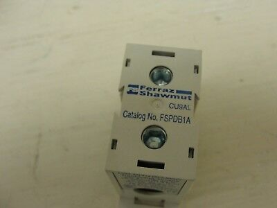 Ferraz Shawmut FSPDB1A, Finger safe 1 in 1 out, Power distribution block  Ferraz Shawmut Power Distribution Blocks