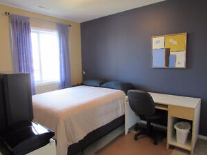Furnished Room for Female-shares bathroom with 1, street Parking