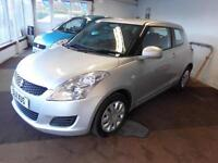 2011 SUZUKI SWIFT SZ2 1.3 PETROL MANUAL 3 DOOR HATCH IN SILVER