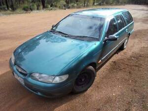 Backpacker Car with LOTS of camping gear - 1998 Ford Falcon Wagon Darwin CBD Darwin City Preview