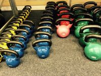 Kettlebells limited sizes left. Only £1.50 a kilo