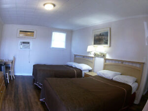 Rooms are available for weekly basis