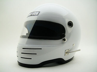 RARE VINTAGE SIMPSON M41 SNELL 1975 HELMET Car Racing Rally F1 Indy 500 Daytona