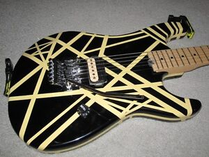 EVH Bumblebee Stratocaster Copy (LIKE NEW)