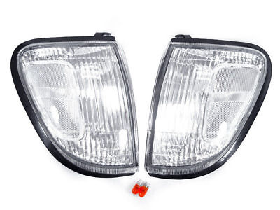 Clear Corner Light + Bulb For 1998-2000 Toyota Tacoma 4WD & Tacoma 2WD PreRunner ()