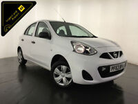 2013 63 NISSAN MICRA VISIA 5 DOOR HATCHBACK 1 OWNER FINANCE PX WELCOME