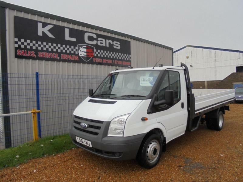dd13eb9fe5 2011 Ford Transit 2.4TDCi ( 115PS ) 350EF LWB   13 FT DROPSIDE   FLAT BED