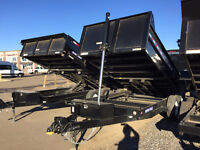 2016 SureTrac 7x14ft HD TELESCOPIC Dump Trailer $9599