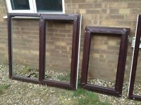 Rosewood upvc windows
