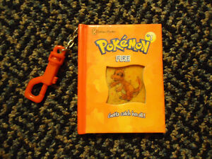 Mini clip on Pokemon book! 3D holographic cover