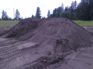 Screened Alberta topsoil